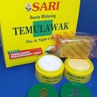 Sari Temulawak Day & Night Cream free Temulawak Transparent SoapL