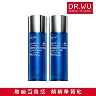【DR.WU 達爾膚】玻尿酸保濕精華化妝水150ML(2入組)