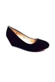 5T&P รองเท้าแฟชั่นคัชชูผู้หญิง  ( สีดำ )