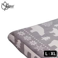 【中大戶外】【Outdoorbase】法蘭絨充氣床包L/XL  床包 充氣床包 適用各廠牌 L XL 充氣床