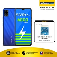 Tecno Spark 6 Air  | Smartphone |  With Free Smart 5G SIM Card and TecnoMobile Notebook with Pen