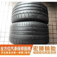 【宏勝輪胎】中古胎 落地胎 二手輪胎:B603.265 35 18 馬牌 CSC3 8成 2條 含工5000元