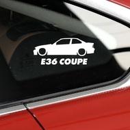 專屬於你的車貼-適用于BMW 【E36 COUPE】寶馬E36貼紙貼紙汽車改裝貼紙 1542