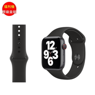 福利品_APPLE Watch 44mm 黑運動錶帶(3E047FE/A)_九成新