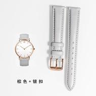 手錶配件 飾品 波士手錶帶HUGO BOSS真皮錶帶 男女針扣皮錶鏈14|16|18|19|20mm
