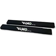"Vamo BLACK 30"" Long Surf Kayak SUP Rack Pads AERO BAR"