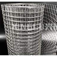 """1/2"""" x 1"""" x 17G x 3' x100' HOT DIP Galvanized BRC Welded Iron Wire Mesh Net Netting /Dawai Jaring"""