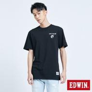 EDWIN 鐵金剛聯名款 指揮艇短袖T恤-男-黑色