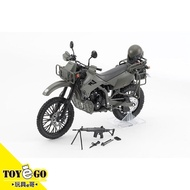 TomyTec 1/12 迷你武裝 LM002 陸上自衛隊偵察機車DX版 代理 玩具e哥 28608
