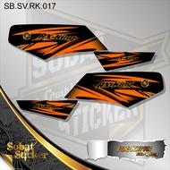 Striping RX KING -  Sticker Striping list Variasi RX KING 17
