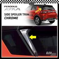 🔥🔥🔥 CHROME Side Spoiler Trim Perodua Ativa