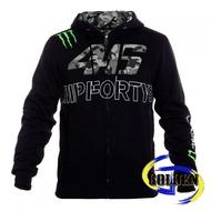【GD佳德】MotoGP Rossi 46 迷彩黑 Monster 鬼爪 連帽外套