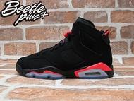 BEETLE PLUS NIKE AIR JORDAN 6 RETRO GS INFRARED 黑紅 女鞋 384665-023