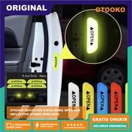 Open Car Door Reflective Sticker Reflective Sticker OPEN 4pcs