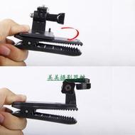 【皇運】適用insta360 ONE X2/R相機背包夾配件360X2/R可調節旋轉相機夾
