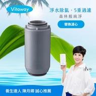 【Vitaway】Vitaway森林SPA活水沐浴過濾器專用濾心-陳月卿推薦