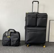 ผ้า Oxford เบากระเป๋าเดินทาง20กระเป๋าผ้าใบล้อสากล24กินนอนเดินทางรหัสผ่านกล่องเดินทาง28