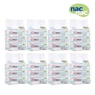 [送洗手乳] nac nac EDI超純水嬰兒潔膚柔濕巾(80抽24包)箱購 濕紙巾-米菲寶貝