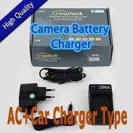 ★BIG SALE★Canon LP-E12 / LPE12 Battery Charger (AC + Car Charger Type) For Canon EOS-100D / EOS-M / EOS 100D / EOS M / Free shipping