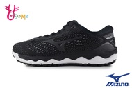 Mizuno 美津濃 成人女款 WAVE SKY 3 SW 寬楦 慢跑鞋 運動鞋 路跑 馬拉松 H9255#黑色 奧森
