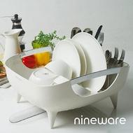 韓國nineware 簡約碗盤瀝水籃