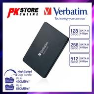 """VERBATIM VI550 S3 SATA III SSD - 2.5"""" - 256GB/512GB"""