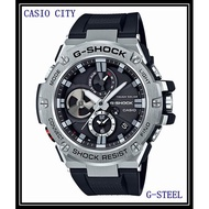 CASIO G-STEEL系列太陽能強悍智慧藍牙連線GST-B100-1A