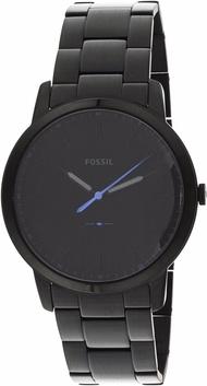 Fossil Men's The Minimalist FS5308 Black Stainless-Steel Japanese Quartz Fashion Watch