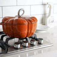 DISA 工藝 南瓜鍋 24cm 琺瑯鑄鐵鍋 白琺瑯 入門版鑄鐵燉鍋 與Staub同一加工廠出品