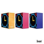 DIVOOM TimeBox 智能LED音樂鬧鐘(藍牙喇叭)-TIMEBOX_PK魔力粉