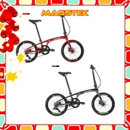 MASSTEK [READY STOCK] XDS Folding Bike 20 inch 8 Speed Aluminum Alloy Folding Bike Lightweight Bicycle Outdoor XDSZ3