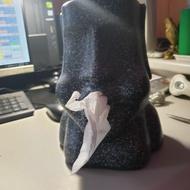 鼻抽摩艾面紙盒