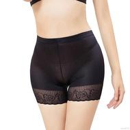 婦女的臀部C臀部假屁股海綿墊苗條拳擊手內褲花邊修剪
