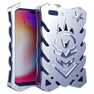 """OPPO A3S/A5 6.2""""S Case, [Vulcan Series] Hollow Design Full Signal Aviation Aluminum Metal Hard Rugged Strong Protection Case Cover For OPPO A3S/A5 6.2""""S/A5 6.20"""""""