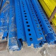 10' Besi Angle Rak Lubang / Slotted Angle Bar 10ft