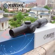 ☽✕Marcool  1 6×24 IG Riflescope Adjustable Red Dot Hunting Light Tactical Scope Reticle Optical Ri