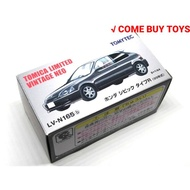 TOMYTEC HONDA CIVIC EK9 TYPE R 黑 LV-N165b K8 絕版品