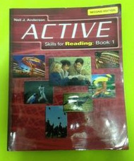 【ACTIVE SKILLS FOR READING: BOOK 1】ISBN:1424001862