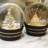 小豬豬之家 7-11 2019金莎水晶球 金莎聖誕水晶球 金莎水晶球