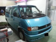 自售 一手 VW 福斯 藍色 8人座 T4 僅跑9萬多