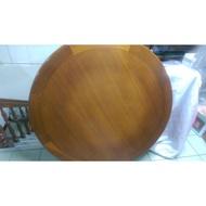 二手 實木餐桌 圓桌 餐椅