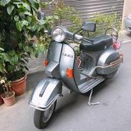 偉士牌 Vespa PX150e 古董1973摩托車鐵灰色