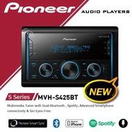 เครื่องเสียงรถ วิทยุติดรถยนต์ รุ่นใหม่ ปี2020 PIONEER MVH-S425BT ไซส์ขนาด2DIN มีบลูทูธ (แบบไม่ใช้แผ่น)