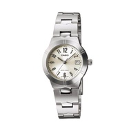 Casio Standard นาฬิกาข้อมือผู้หญิง สายสแตนเลส รุ่น LTP-1241D-7A2 - สีเงิน