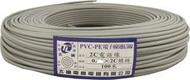 TL 電話線 0.5mm*2C(鍍錫銅) 2芯 電話電纜 電線電纜 圓形電話線 交換機 單蕊 數位電話線 100米