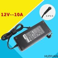 huiyuan適用於台達12v10a電源適配器led電源220v轉12v監控電源12v8a 12v6a電源變壓器