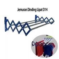 JEMURAN TEMPEL - JEMURAN LIPAT DINDING - Jemuran Dinding Lipat Aluminium