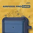 VAP Airpods pro 雙色軍規防摔殼- 軍藍+深藍