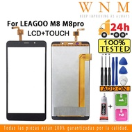 Original for LEAGOO M8 M8pro LCD touch screen digitizer Assembly M8 M8 pro LCD screen Touch Repair Parts replacement