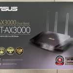 九成新 全套有單有保 Asus華碩 RT-AX3000 雙頻 WiFi 6 (802.11ax) 路由器